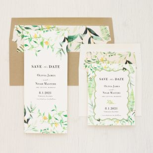 Botanical Garden Save the Dates