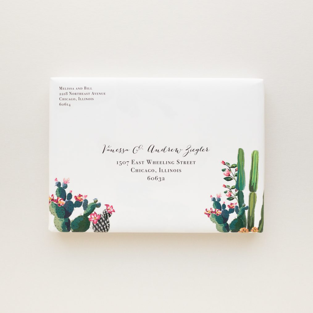 Colorful Desert Love Boxed Wedding Invitations