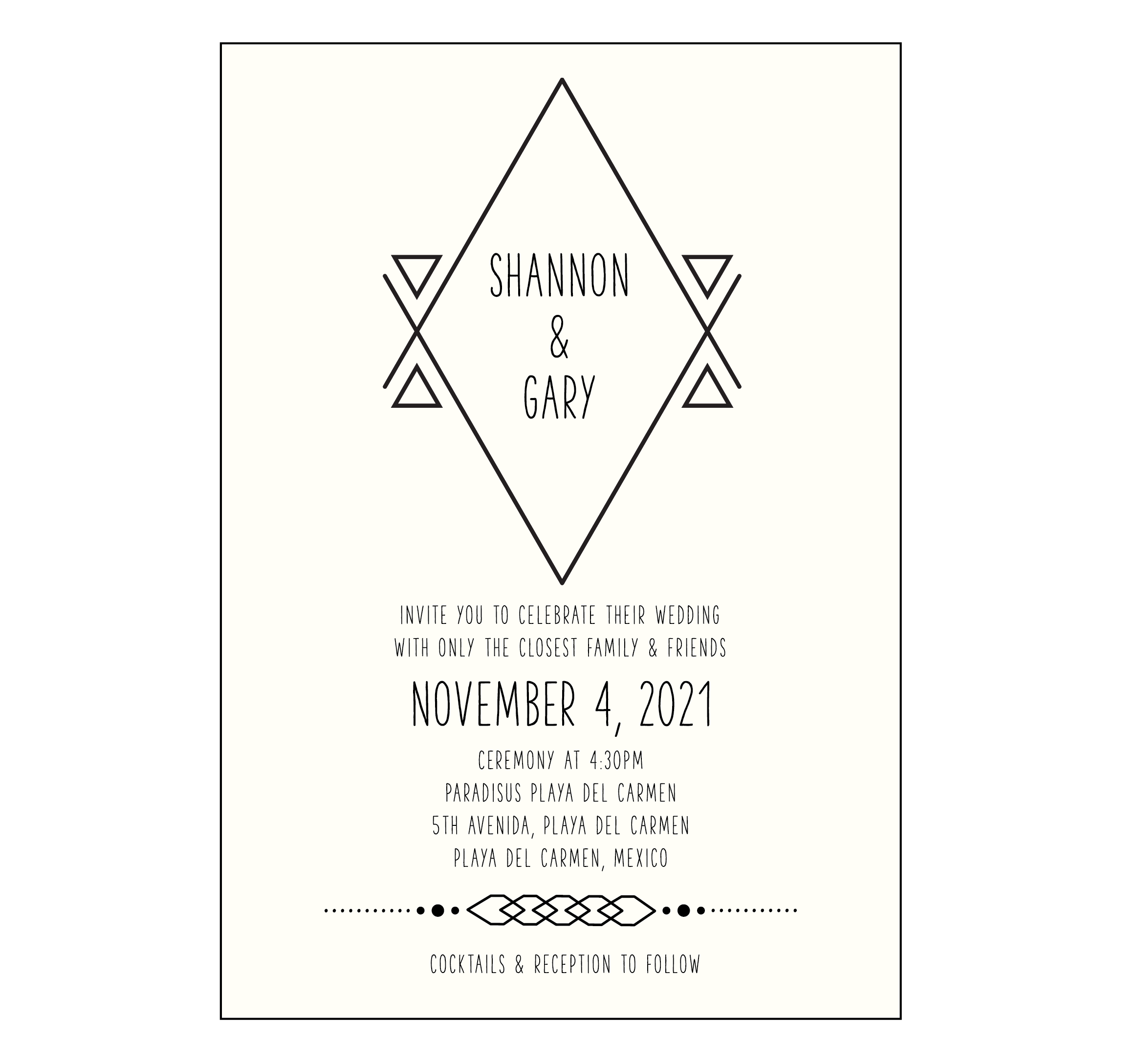 Customize These Destination Wedding Invite Wording Samples