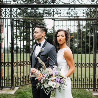 ELEGANT GARDEN WEDDING AT NATIRAR MANSION