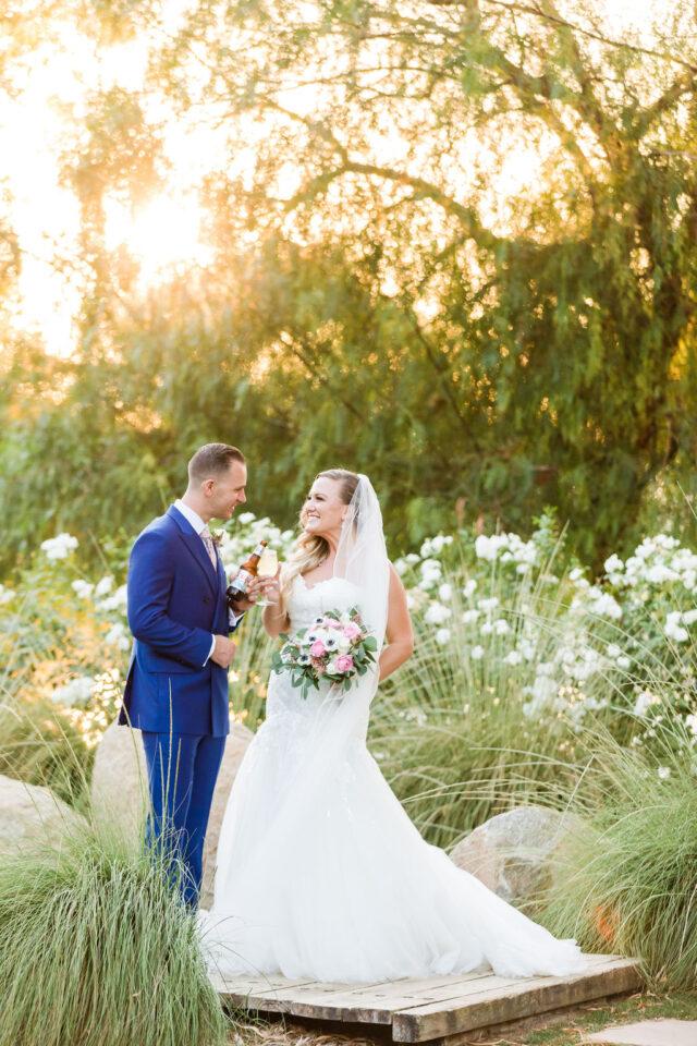 Lush Garden Wedding at Galway Downs
