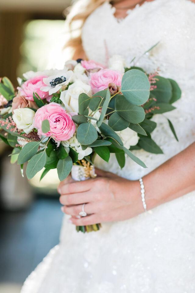 Lush Floral Wedding Bouquet