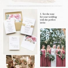 Dusty Rose Garden Wedding