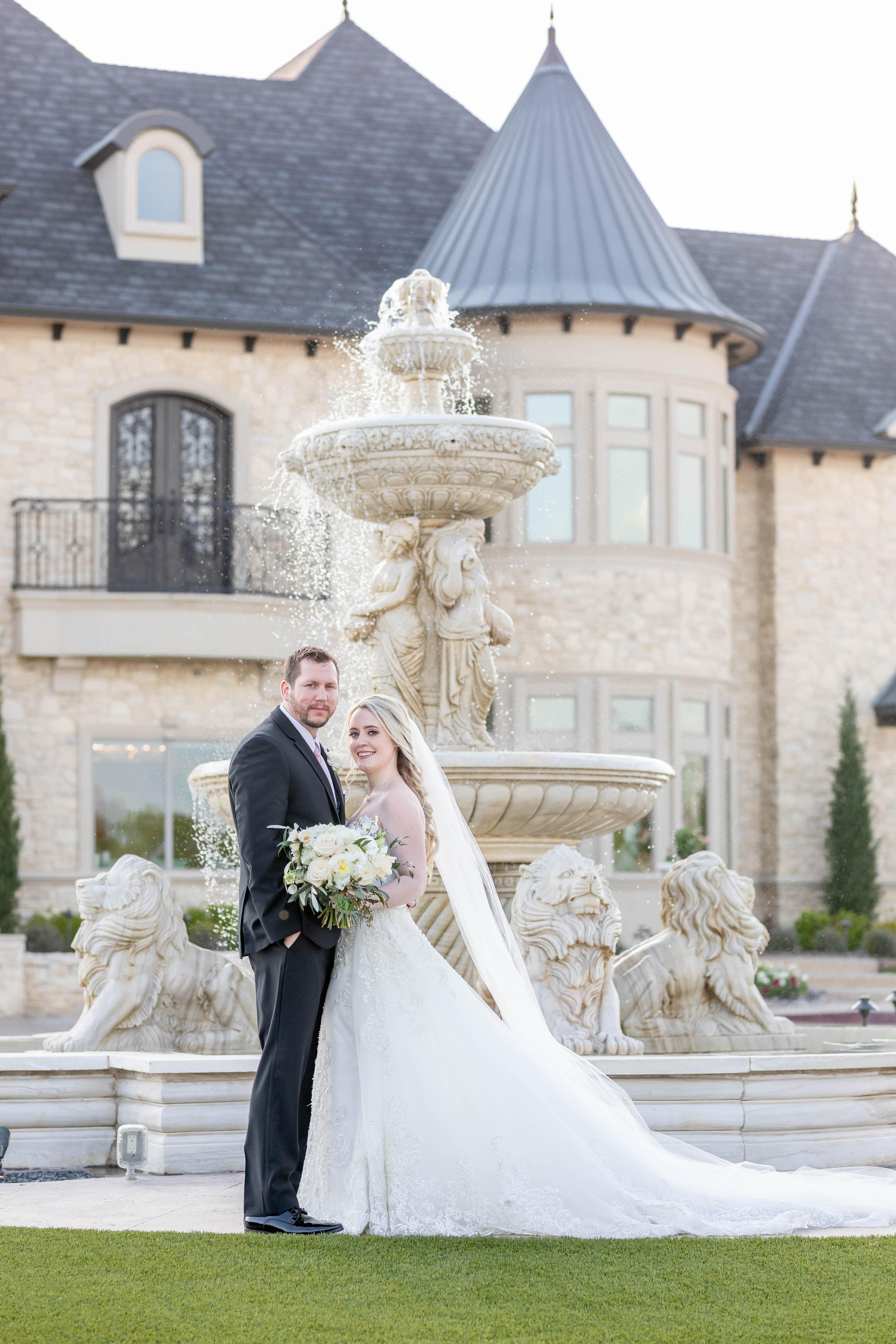 Modern Castle Garden Wedding
