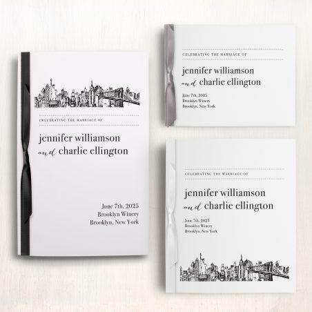 City Skyline Ceremony Booklet